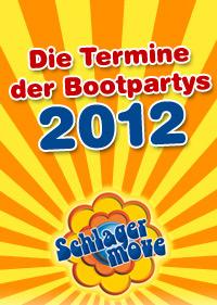 Schlagermove-Bootpartys 2012