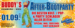 Afterboot-Party am Freitag den 01. September